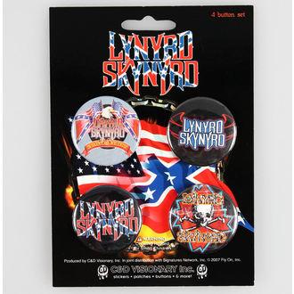 odznaky Lynyrd Skynyrd - CDV, C&D VISIONARY, Lynyrd Skynyrd