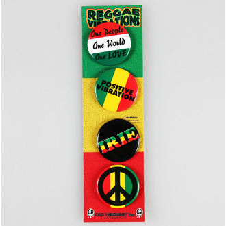 odznaky DSX Reggae&Rasta - Assorted, C&D VISIONARY
