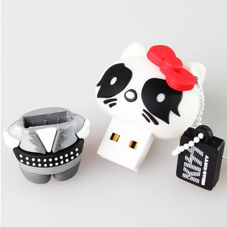 flash disc USB 8GB (prívesok) KISS - HELLO KITTY - The Catman, HELLO KITTY, Kiss