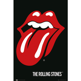plagát The Rolling Stones - Lips, GB posters, Rolling Stones