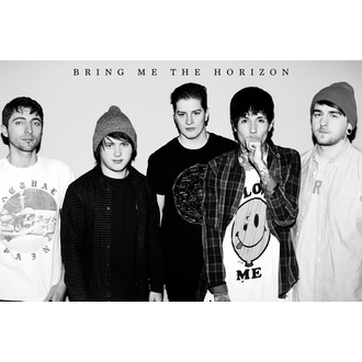 plagát Bring Me The Horizon - Black&W, GB posters, Bring Me The Horizon