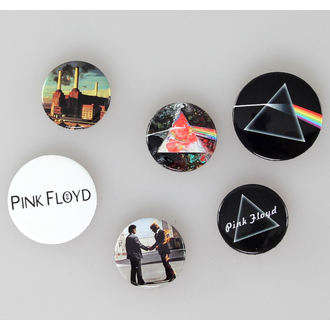odznaky Pink Floyd - Album And Logos, GB posters, Pink Floyd