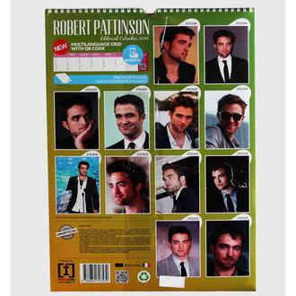 kalendár na rok 2014 Robert Pattinson, NNM