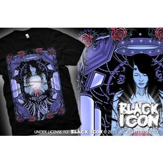 tričko pánske BLACK ICON - Maiden - Black, BLACK ICON