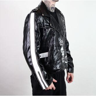bunda pánska (křivák) ADERLASS - Rock Jacket Lacrimas Profundere - Black, ADERLASS