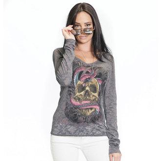 tričko dámske s dlhým rukávom SULLEN - SA Serpent Burnout, SULLEN