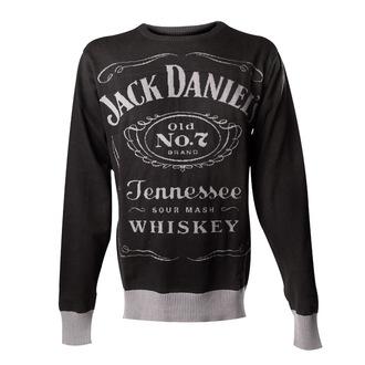 sveter pánsky Jack Daniels - Knitted Sweater - Black - BIOWORLD, JACK DANIELS