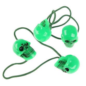 gumička do vlasov KREEPSVILLE SIX SIX SIX - Skull - Green, KREEPSVILLE SIX SIX SIX