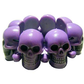 náramok KREEPSVILLE SIX SIX SIX - Skull - Purple, KREEPSVILLE SIX SIX SIX