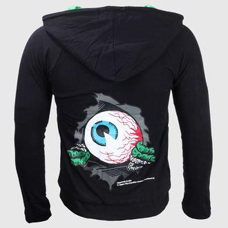 mikina pánska KREEPSVILLE SIX SIX SIX - Eyeball - Black, KREEPSVILLE SIX SIX SIX