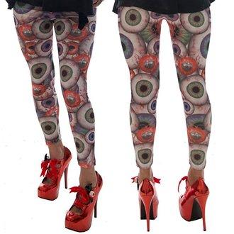 nohavice dámske (legíny) KREEPSVILLE SIX SIX SIX - Eyesore, KREEPSVILLE SIX SIX SIX