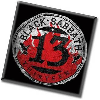 magnet Black Sabbath - 13 Flame Circle - ROCK OFF, ROCK OFF, Black Sabbath