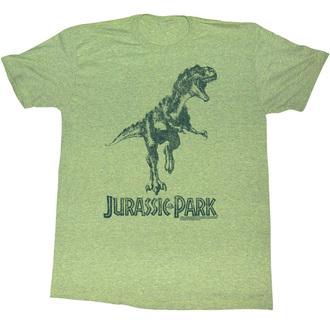 tričko pánske Jurský park - Green T-Rex - AC - JUR5125