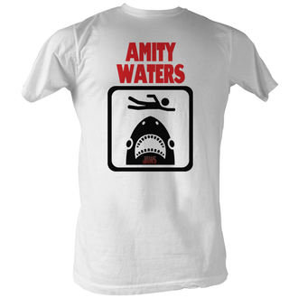 tričko pánske Čeľuste - Amity Waters - AC, AMERICAN CLASSICS, ČELISTI