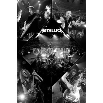 plagát Metallica - Live - PYRAMID POSTERS, PYRAMID POSTERS, Metallica