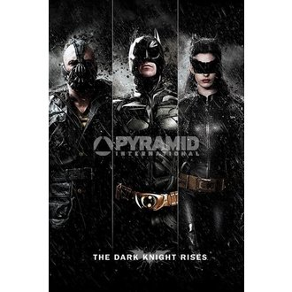 plagát Batman - The Dark Knight Rises - Three - PYRAMID POSTERS, PYRAMID POSTERS