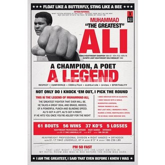 plagát Muhammad Ali - Vintage - Corbis - PYRAMID POSTERS, PYRAMID POSTERS