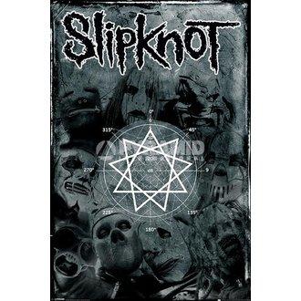plagát Slipknot - Pentagram - PYRAMID POSTERS, PYRAMID POSTERS, Slipknot