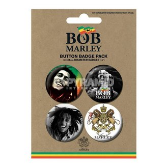 odznaky Bob Marley - Photo - PYRAMID POSTERS, PYRAMID POSTERS, Bob Marley