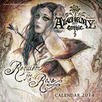 kalendár na rok 2014 Alchemy - PYRAMID POSTERS, ALCHEMY GOTHIC