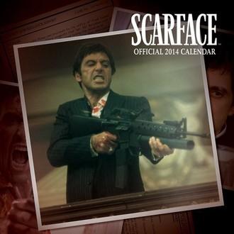 kalendár na rok 2014 Scarface - PYRAMID POSTERS, PYRAMID POSTERS, Scarface