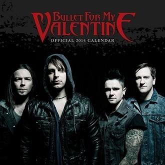 kalendár na rok 2014 Bullet For My Valentine - PYRAMID POSTERS, PYRAMID POSTERS, Bullet For my Valentine