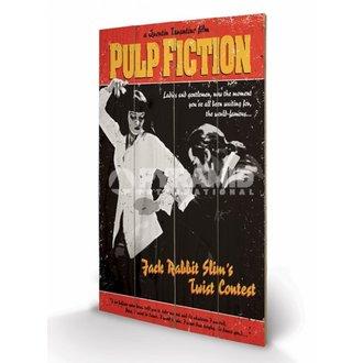 drevený obraz Pulp Fiction - Twist Contest - PYRAMID POSTERS
