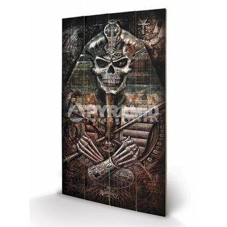 drevený obraz Alchemy - Thoth Codex - PYRAMID POSTERS, ALCHEMY GOTHIC