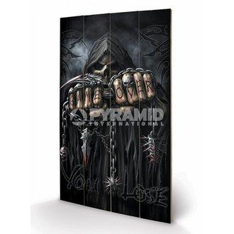 drevený obraz Spiral - Game Over - Reaper - PYRAMID POSTERS, SPIRAL