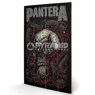 drevený obraz Pantera - Snake Eye - PYRAMID POSTERS, PYRAMID POSTERS, Pantera