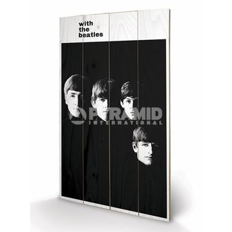 drevený obraz The Beatles - With The Beatles - PYRAMID POSTERS, PYRAMID POSTERS, Beatles