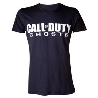 tričko pánske Call Of Duty Ghosts - Logo - Black - LIVE NATION - PE10712TSB