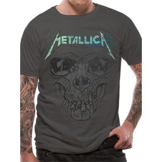 tričko pánske Metallica - Pushead Ionised - Charcoal - LIVE NATION, LIVE NATION, Metallica