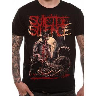 tričko pánske Suicide Silence - Grave - Black - LIVE NATION, LIVE NATION, Suicide Silence