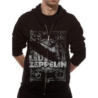 mikina pánska Led Zeppelin - Shook Me - Black - LIVE NATION, LIVE NATION, Led Zeppelin