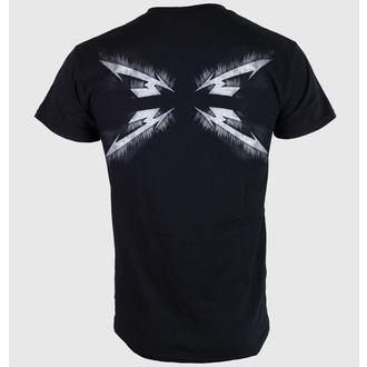 tričko pánske Metallica - Spiked Logo - Black - LIVE NATION - RTMTL0180