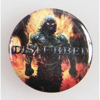 odznaky Disturbed - Indestruct 5 Btn - BRAVADO, BRAVADO, Disturbed