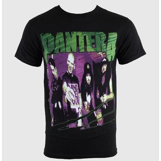 tričko pánske Pantera - Group Sketch - Blk, BRAVADO, Pantera
