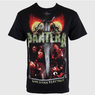tričko pánske Pantera - Lightning Skulls - BRAVADO, BRAVADO, Pantera