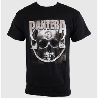 tričko pánske Pantera - Metal Skull - Blk - BRAVADO