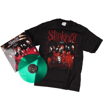 set tričko + vinyl Slipknot - BRAVADO, BRAVADO, Slipknot