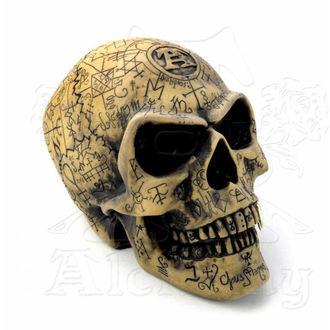 dekorácia Alchemy Gothic - Omega Skull, ALCHEMY GOTHIC