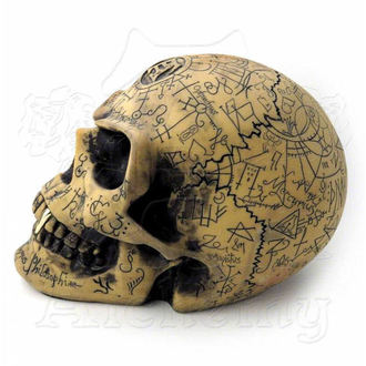 dekorácia Alchemy Gothic - Omega Skull - V1