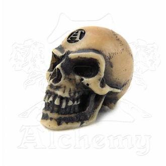 dekorácia Alchemy Gothic - Lapillus Worry Skull, ALCHEMY GOTHIC
