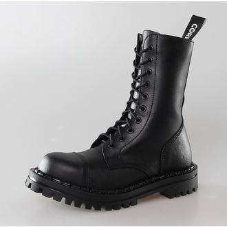 topánky ALTERCORE - 10dírkové - Black