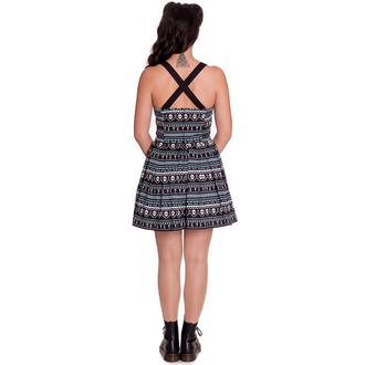 šaty dámske HELL BUNNY - Inca Mini, HELL BUNNY