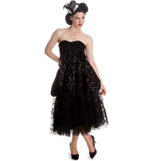 šaty dámske HELL BUNNY - Lavintage - Black, HELL BUNNY