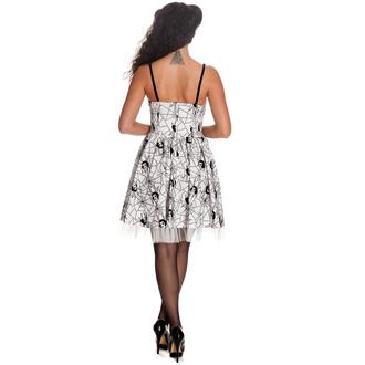 šaty dámske HELL BUNNY - Mary Jane - WHT, HELL BUNNY