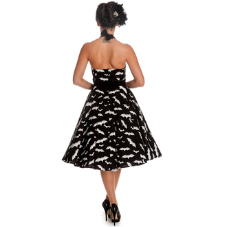 šaty dámske HELL BUNNY - Bat 50´s - Blk/Wht, HELL BUNNY