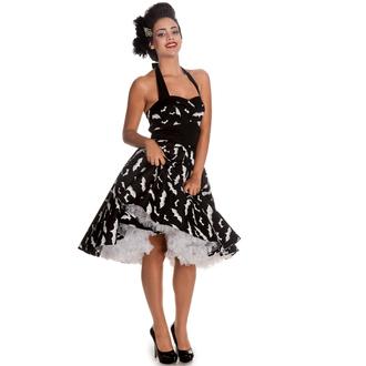 šaty dámske HELL BUNNY - Bat 50´s - Blk/Wht